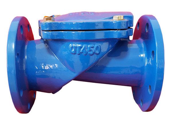 止回阀在泵的保护管道中的应用